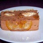 Pastel mousse choco-naranja