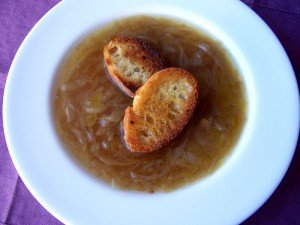 Sopa de cebolla de Miguel