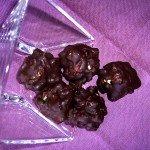 Bomboncitos de chocolate y nueces de macadamia