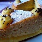 Tarta de coco con Lemon curd