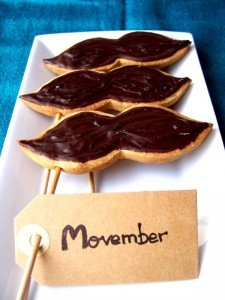 Galletas Movember